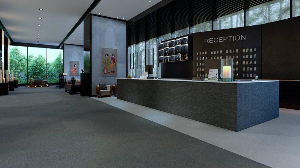 3D-визуализация интерьера для ТМ Estima, reception© 3DADDY STUDIO