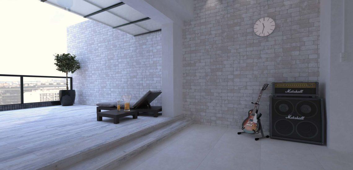 3D-визуализация интерьера для ТМ Estima, апартаменты, балкон © 3DADDY STUDIO