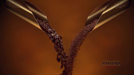 Рекламный 3D ролик о Кофе ТМ Mistero Cafe Le Grand