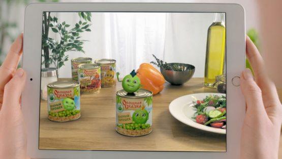 Изображение для видеоролика ТМ Овощная сказка © 3DADDY STUDIO
