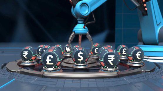 Современная 3D анимация в ролике Olymp Trade