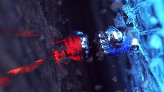 Рекламный ролик с 3D эффектами для USF